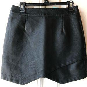 NWT Vegan Leather Skirt